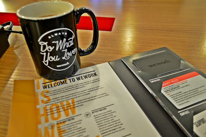 wework mug and boston office eileen cotter wright