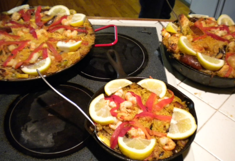 paella homemade eileen cotter wright
