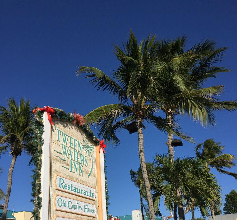 Tween Waters Welcome Sign Captiva Island Florida Eileen