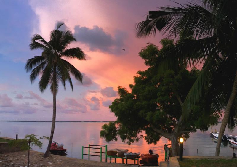Jetwing Lagoon sunset Sri lanka