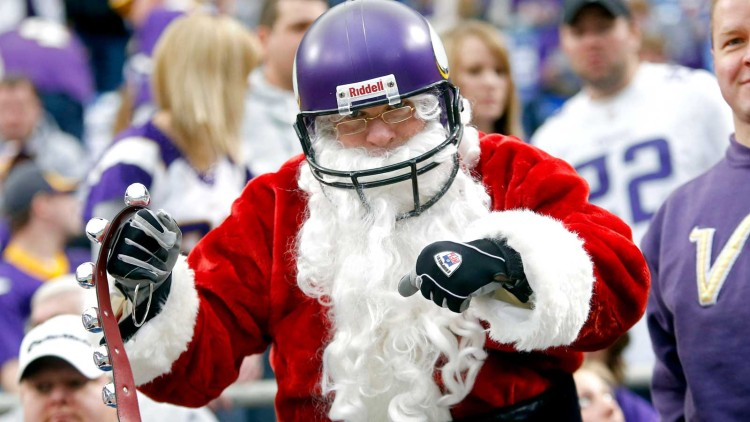 Santa Claus and the NFL: A Comprehensive Partial History