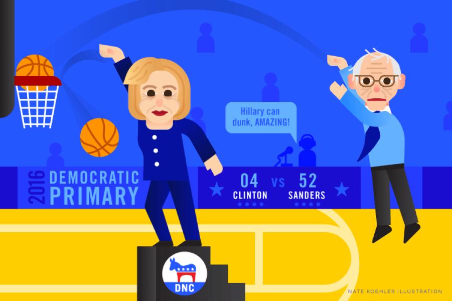 Sanders.v.Clinton-1
