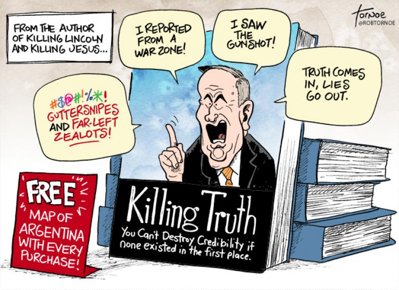 Bill O'Reilly's Next Book: Killing Truth