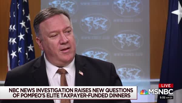 With An Eye On 2024, Mike Pompeo Holds Elaborate Taxpayer ...