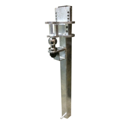 Crookstoppers fixed caravan or trailer security post.