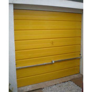 Crookstoppers garage door lock.