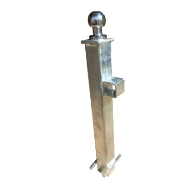 Crookstoppers fixed hitch lock security post.
