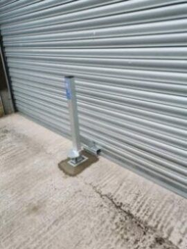 Crookstopper Anti Ram raid Roller Shutter Door Security Post
