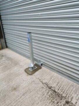 Crookstopper Anti Ram raid Roller Shutter Door Security Post