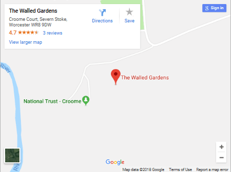 Walled Gardens Map