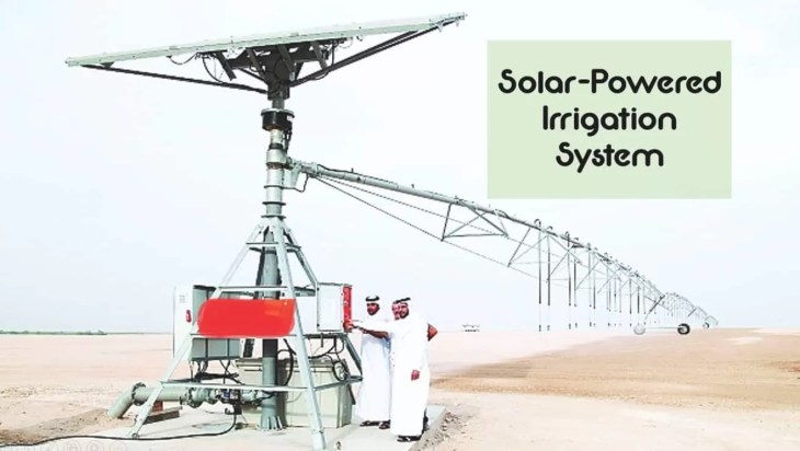 1st Solar-Powered Irrigation System