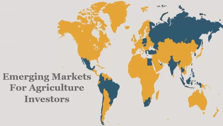 4 Emerging Markets Are A Compelling Investment Option For Agriculture Investors