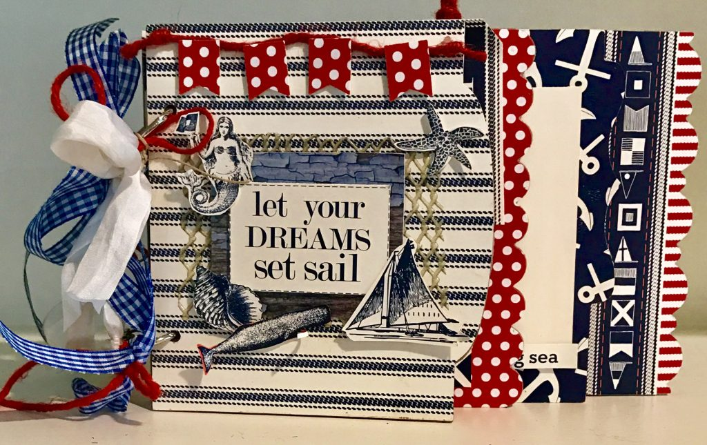 By the Sea Mini Book, Nancy Hawes