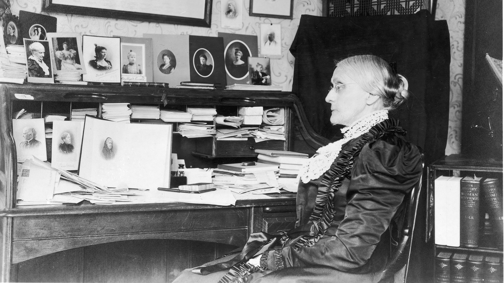 February 15 Susan B Anthony Was Born And Grew Up