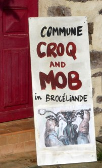 Commune Croq and Mob in Brocéliande