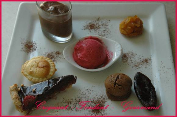 Assiette gourmande Autour du chocolat-framboise - septembre 2008 020 copie