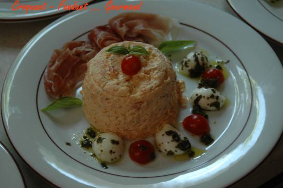 bavarois de tomates  - - 2008 019