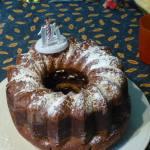 Gâteau marbré qui réjouit l'œil à vous de jouer Ma lolo P1080361