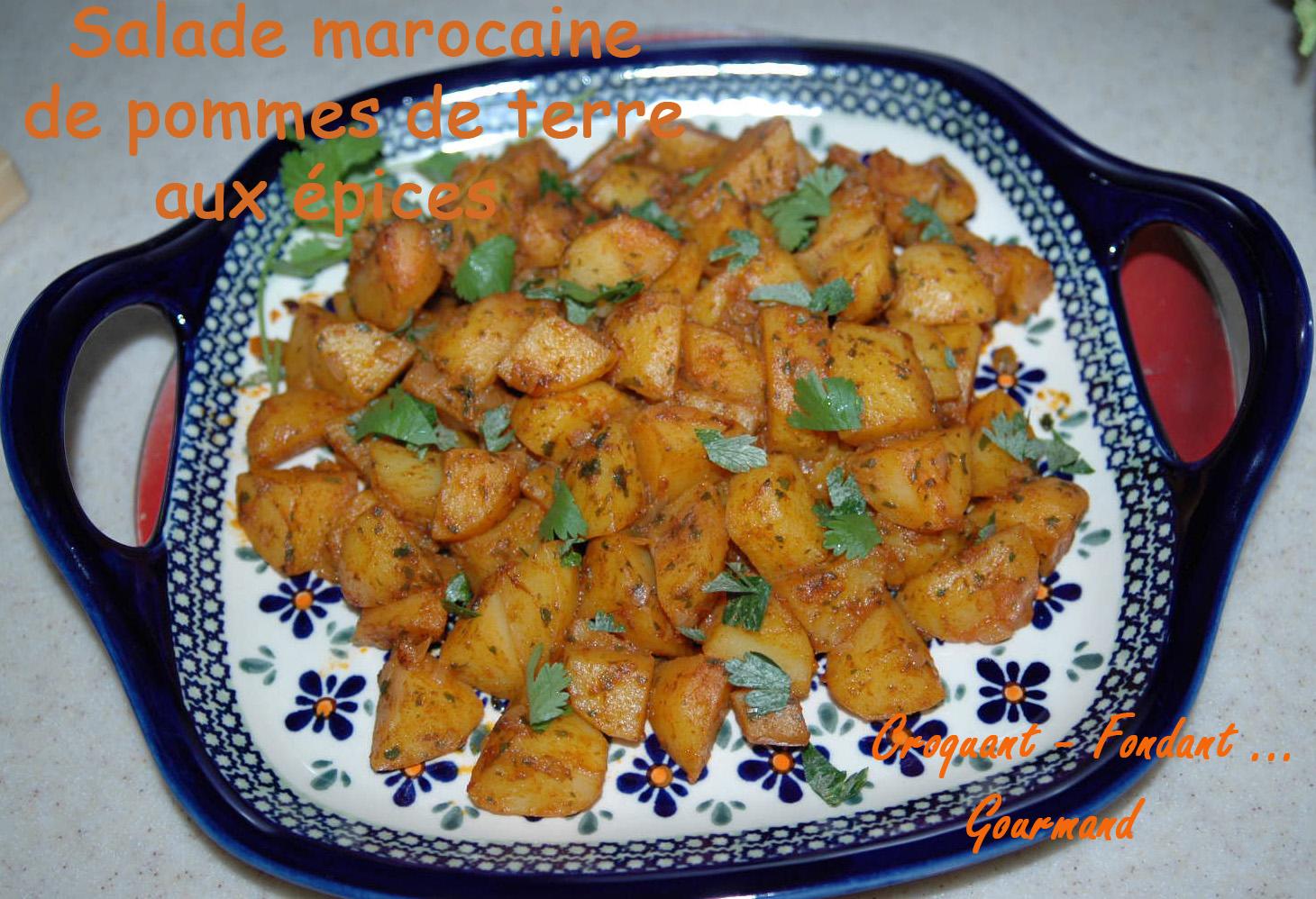 Salade marocaine de PDT épicées - DSC_3849_12030