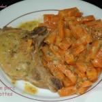 Côtes de porc aux carottes - septembre 2008 016