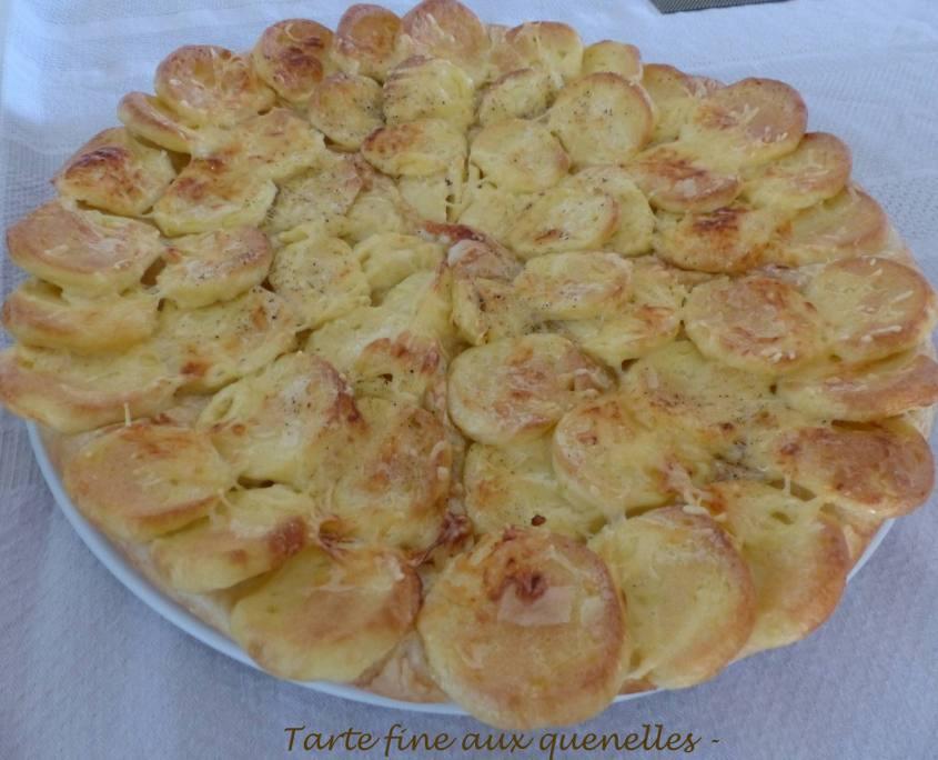 Tarte fine aux quenelles - P1190291 R