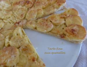 Tarte fine aux quenelles - P1190301 R