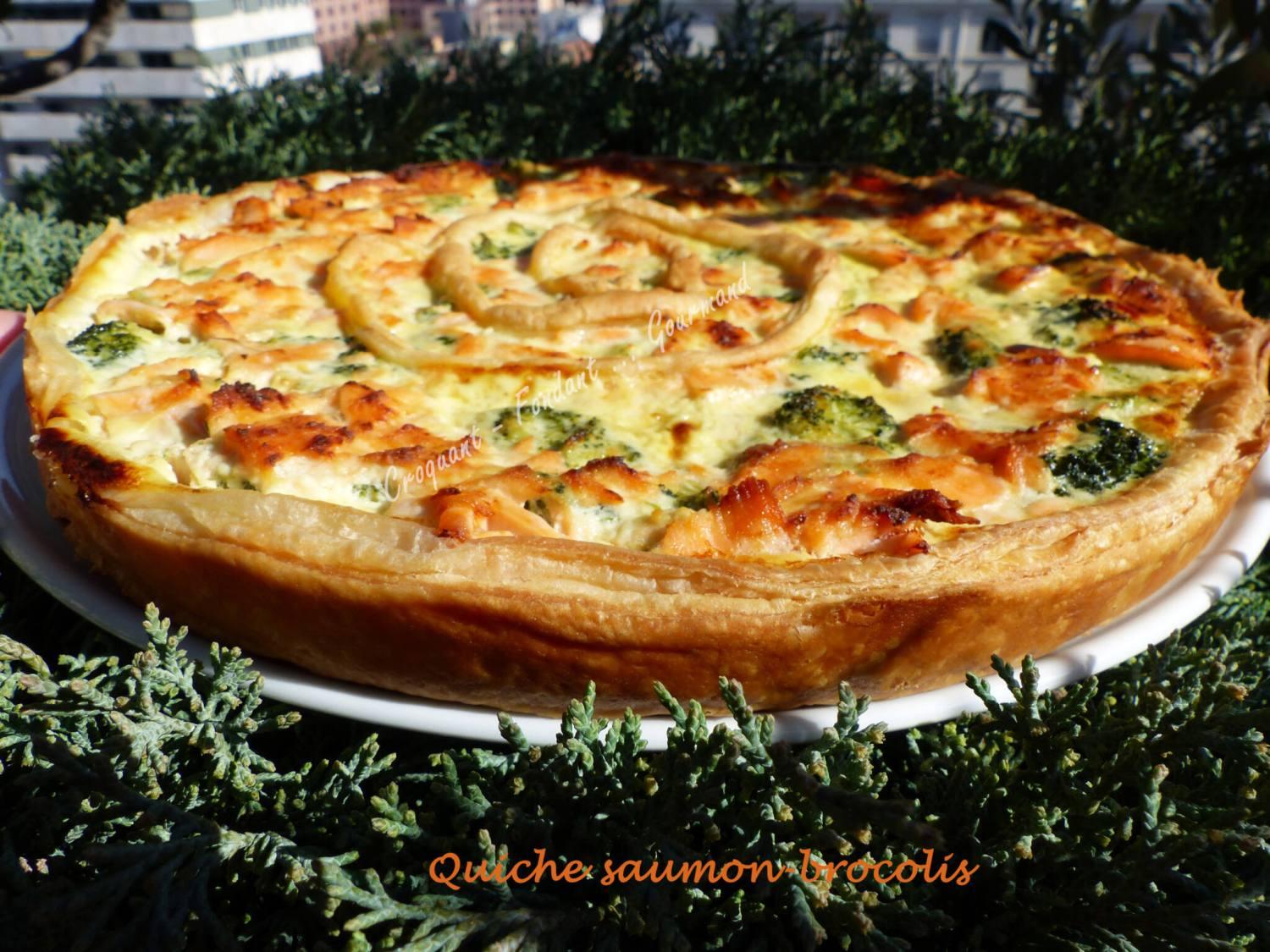 Quiche saumon-brocolis P1010586