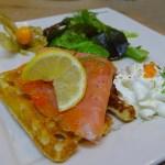Chiffonade de saumon fumé à vous de jouer Cuisine en folie DSC00630