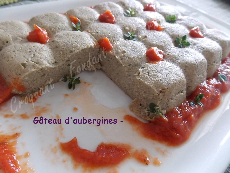 Gâteau d'aubergines -DSCN7369_27497