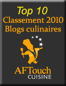 Top 10 des blogs culianires