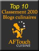 Top 10 des blogs culianires