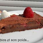 à vous de jouer Bibica et son poids Délice en rouge et noir 90672395_p