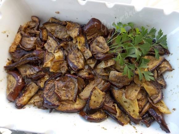 Aubergines grillées en salade DSCN0132_29670