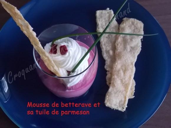 Mousse de betterave et sa tuile de parmesan DSCN1186_30747