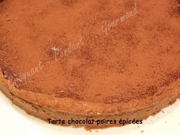 Tarte chocolat poires épicées DSCN1215_30776