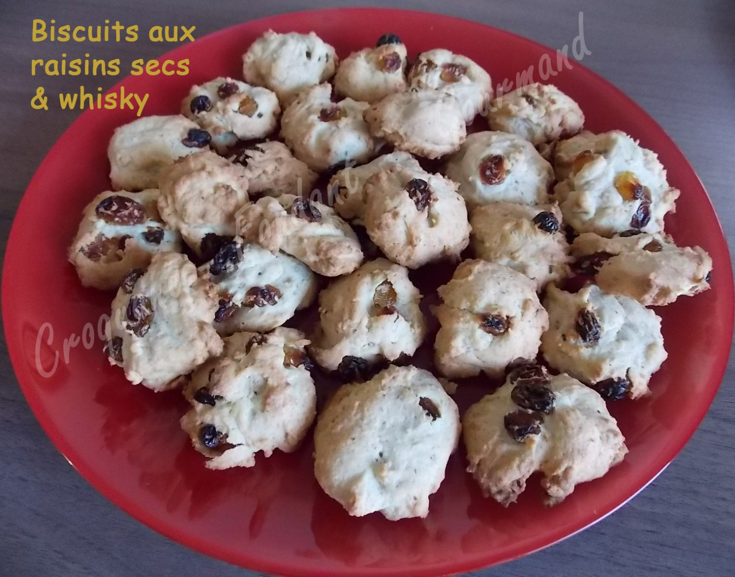 Biscuits aux raisins secs & whiskyDSCN2343_32036