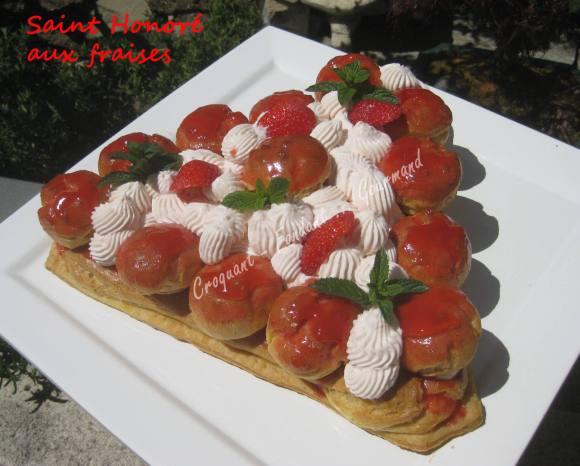 Saint Honoré aux fraises IMG_5486