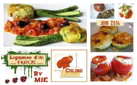 Logo Culino Versions theme legumes farcis juin 2014