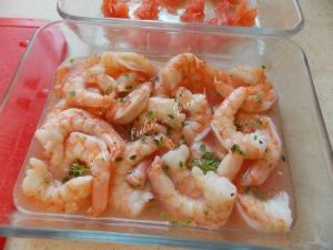 Sauté de crevettes au pamplemousse DSCN4046_34320
