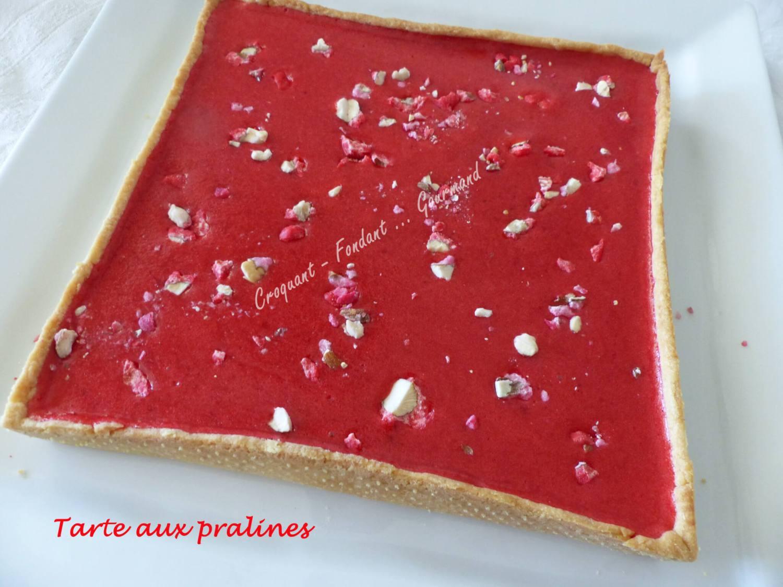 Tarte aux pralines P1030598