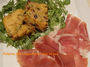 Polenta à la roquette et aux olives DSCN1339_30927