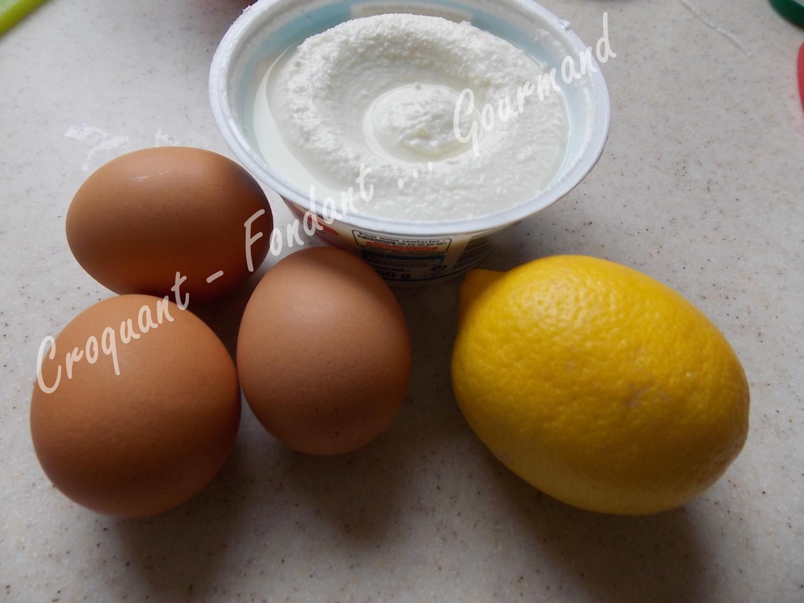 Cake Citron Huile D Olive Ricotta