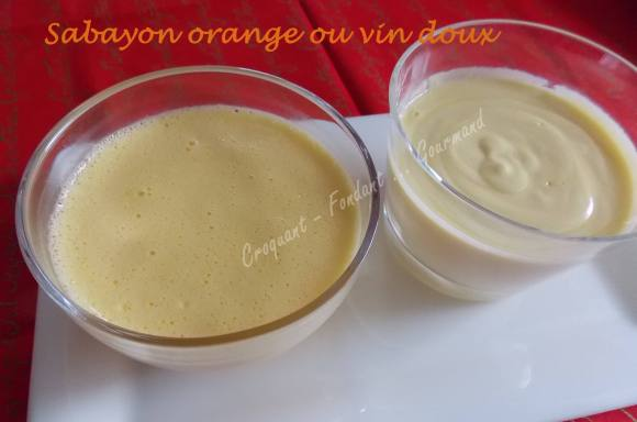 Sabayon orange ou vin doux 040