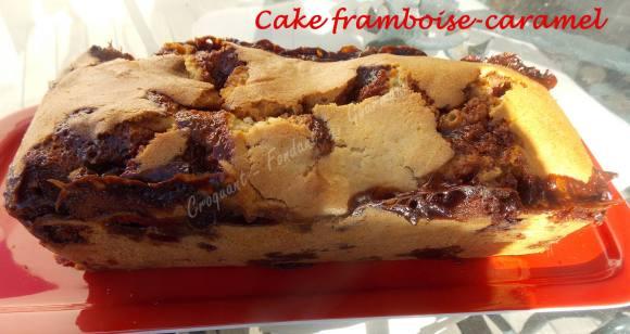 Cake framboise-caramel DSCN6495