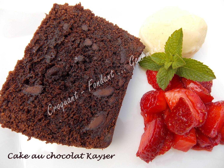 Cake au chocolat Kayser DSCN8149