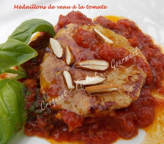 Médaillons de veau à la tomate DSCN7837