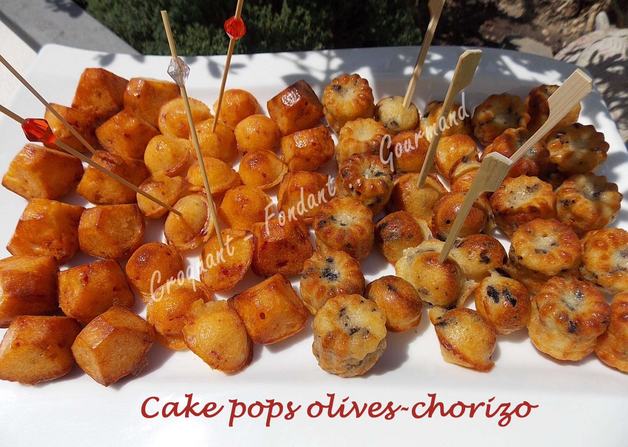 Pop Cake Aux Olives