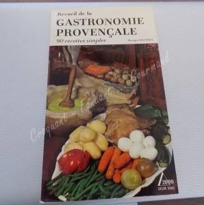 Livre Recueil de la gastronomie provençale DSCN9385
