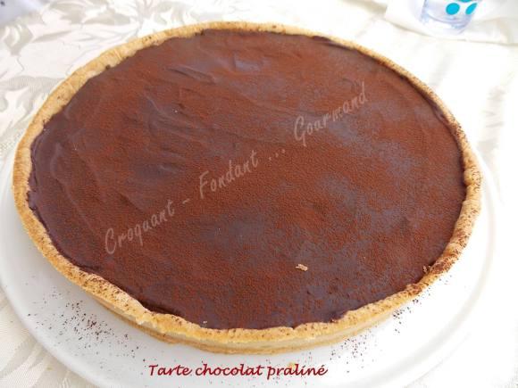 Tarte chocolat praliné DSCN9067