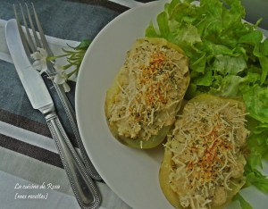 Défi 7 Pomme de terre gratinée à la moutarde La cuisine de Rosa 106435569